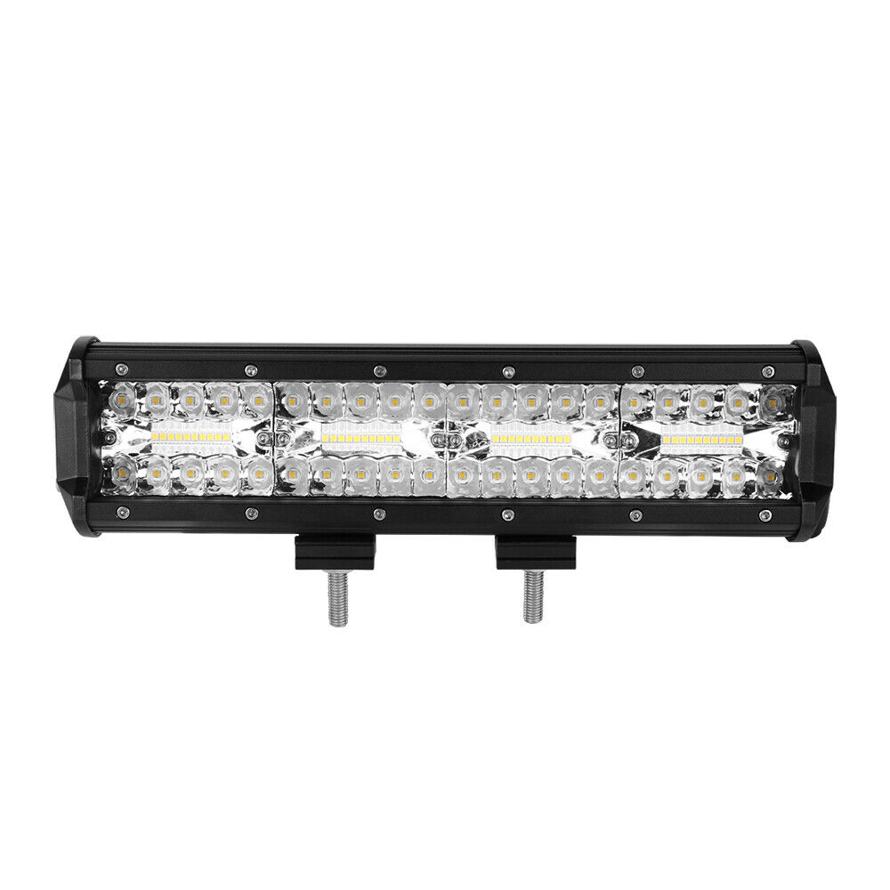12Inch LED Light Bar 1008W Spot Flood OffRoad Truck For JEEP Ford SUV UTE 6000K 4