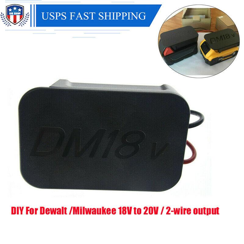 DIY Converter For Dewalt /Milwaukee 18V to 20V Volt Battery